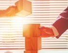 business continuity planning - stacking blocks